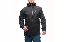 Houdini Men&#039;s Surpass Shell Jacket rock black/true black